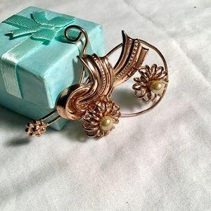 ❇️Vintage Copper Artisan Pendant/Brooch